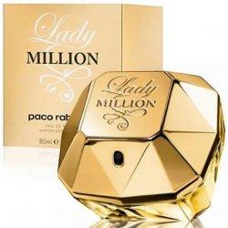 PERFUME PACO RABANNE  LADY MILLION FEMININO EDT 80ML