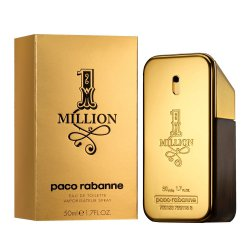 PERFUME PACO RABANNE  ONE MILLION MASCULINO EDT 100 ML