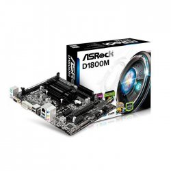 PLACA MÃE MB+CPU ASROCK D1800M INTEL 2.41GHZ MICRO