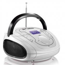 Radio Caixa De Som Bluetooth Branca e Preta SP185