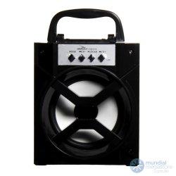Radio Caixa De Som Bluetooth Grasep D-BH1019 FM/USB/SD Preta