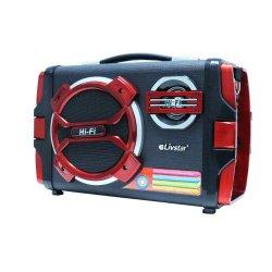 Radio Caixa De Som Bluetooth LivStar CNN-23 SP FM AM USB SD