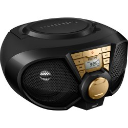 Radio Portatil USB PX3115GX/78 Preto/Dourado PHILIPS