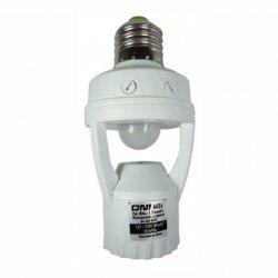 Sensor de Presença e Fotocélula P/ Soquete E27 Bivolt 6026 Key West