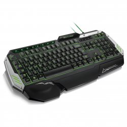 Teclado Gamer Multimidia USB Warrior TC189 Multilaser