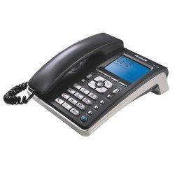 Telefone Mesa Ibratele Capta Phone Top 0457 Grafite/Prata