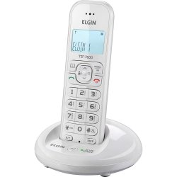 Telefone sem Fio com ID TSF-7600 Branco ELGIN