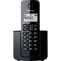 Telefone Sem Fio Panasonic KX-TGB110LB Preto Com Bina