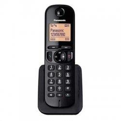 Telefone Sem Fio Panasonic KX-TGC210 1.9GHZ  Preto Com Bina