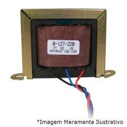 Transformador 6+6VAC 127/220VAC 220mA 6/400 HAYONIK