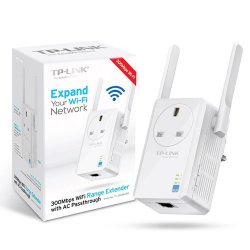 WIRELESS EXTENSOR ACCESS POINT TP-LINK WA860RE C/ANTENA 300MBPS