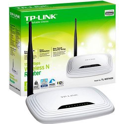 WIRELESS ROTEADOR TP-LINK WR740N BR 150MBPS 1 ANTENA